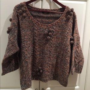 ASOS Ladies Pom Pom Sweater Size 12US New